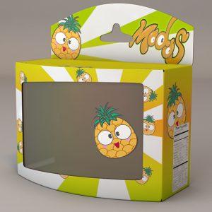 Pineapple-Render Poster